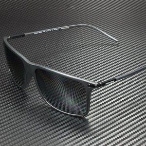 Giorgio Armani Men's Matte Black Grey Sunglasses!